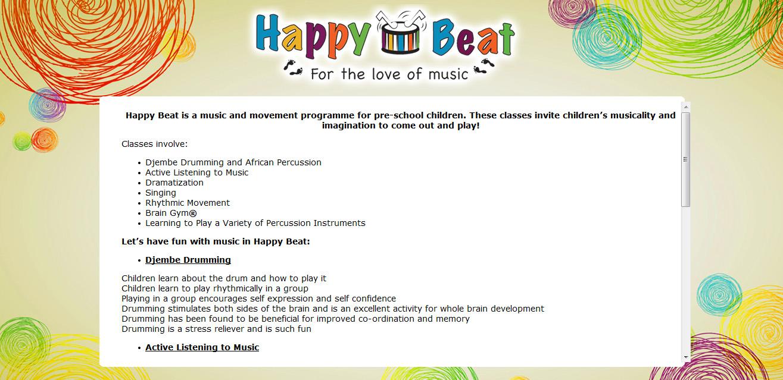 HappyBeat_Website