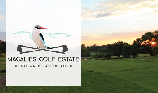 magalies golf estate home owners association logo