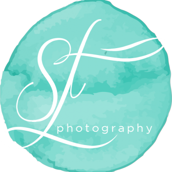 Shelby Forsyth Photography Monogram Watermark Blue Large